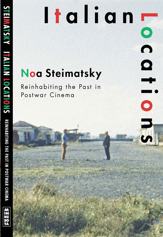 noa steimatsky Italian Locations Cover